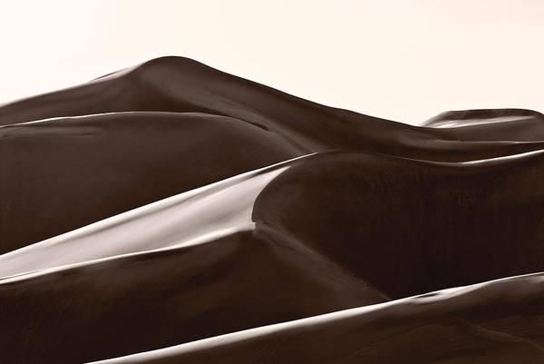 Great Sand Dunes National Park Photograph - Sand Forms Great Sand Dunes Colorado by Steve Gadomski