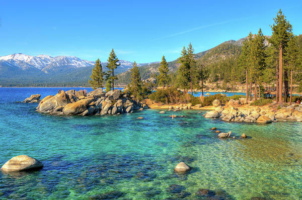 Awe Photograph - Sand Harbor State Park, Lake Tahoe by Www.35mmnegative.com