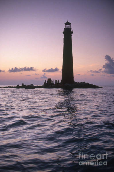 Photograph - Sand Island Lighthouse In Alabama by Bruce Roberts