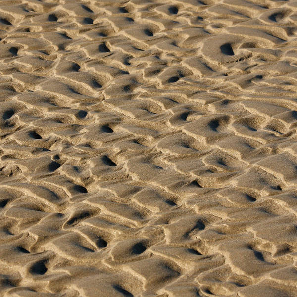 Oceanfront Photograph - Sand Patterns by Art Block Collections