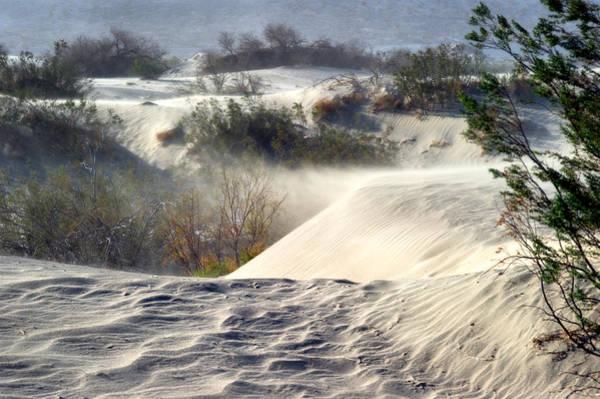 Photograph - Sand Storm In The Mesquite Dunes 3 by Tomasz Dziubinski