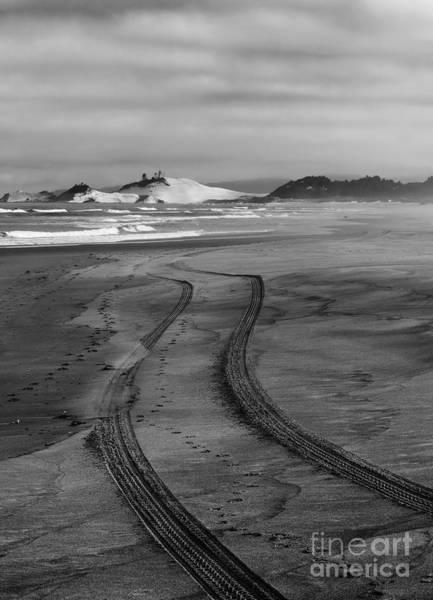 Oregon Dunes Photograph - Sand Tracks by Mike Dawson