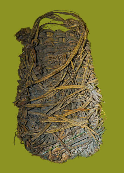 Wall Art - Photograph - Sandal Made From Yucca Leaves by Millard H. Sharp