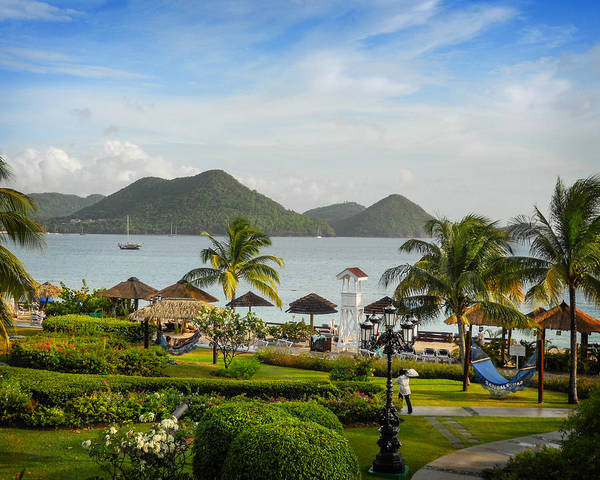Photograph - Sandals St. Lucia by Joe Winkler