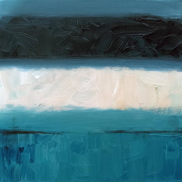 Painting - Sandbar 2 by Sean Parnell