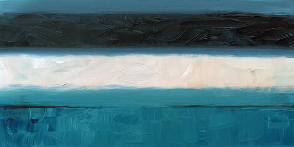 Painting - Sandbar 4 by Sean Parnell