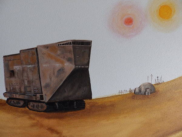 Painting - Sandcrawler by Dan Wagner