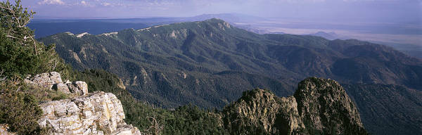 Wall Art - Photograph - Sandia Mountains, Albuquerque, New by Panoramic Images
