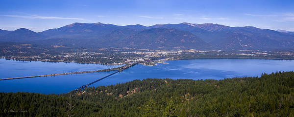 Photograph - Sandpoint From Trail 3  -  110923-021 by Albert Seger