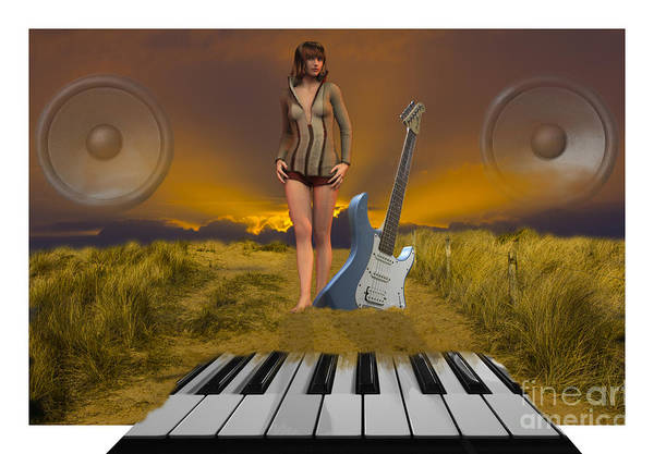 Photograph - Sands Of Music by Brian Roscorla