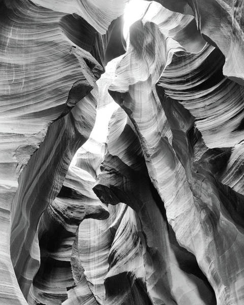 Photograph - Sands Of Time - Black And White by Harold Rau