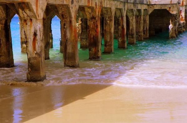 St. Maarten Photograph - Sands Of Time by Karen Wiles