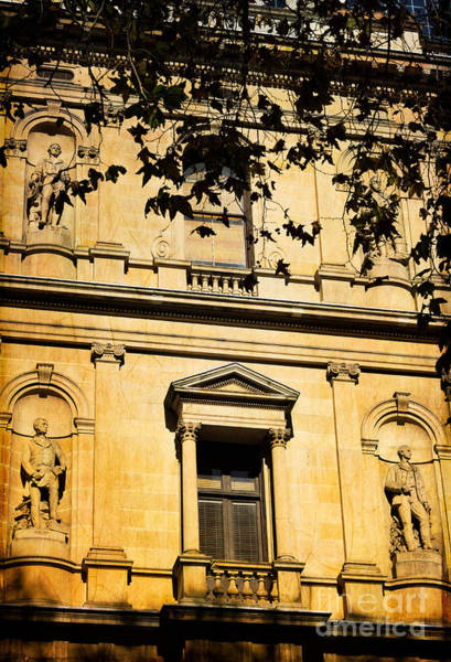 Photograph - Sandstone Architecture - Characteristic Of Sydney Australia by David Hill