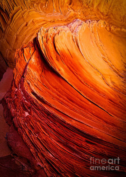 Vermilion Cliffs Wall Art - Photograph - Sandstone Flakes by Inge Johnsson