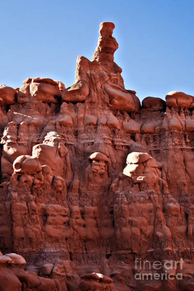 Goblin Valley State Park Photograph - Sandstone Goblin Valley by Robert Bales