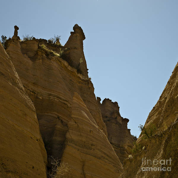 Photograph - Sandstone Peaks Sq by Dave Gordon