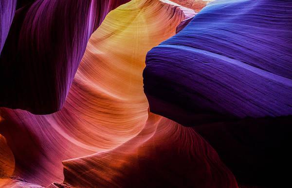 Rainbow Photograph - Sandstone Rainbow by Peter Irwindale