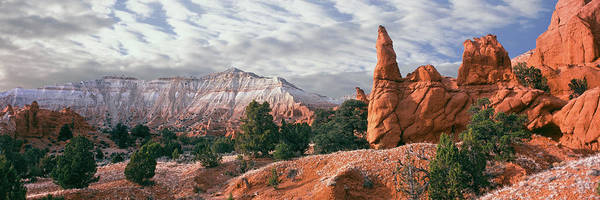 Peacefulness Photograph - Sandstone Rock Formations, Kodachrome by Panoramic Images