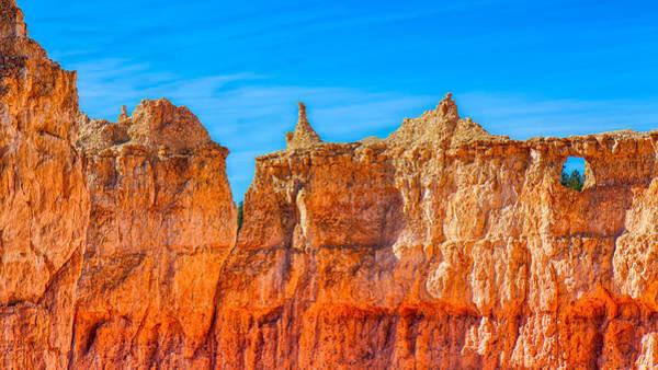 Photograph - Sandstone Wall by John M Bailey