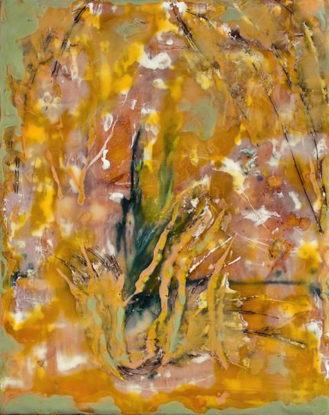 Painting - Sandstorm Encaustic by Bellesouth Studio