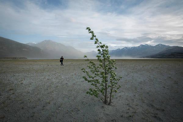 Yukon Territory Wall Art - Photograph - Sandstorm, Kluane by Paul Zizka