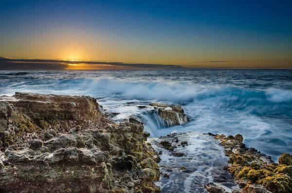 Wall Art - Photograph - Sandy Beach Sunrise by Tin Lung Chao