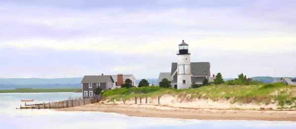 Painting - Sandy Neck Lighthouse by Michelle Constantine