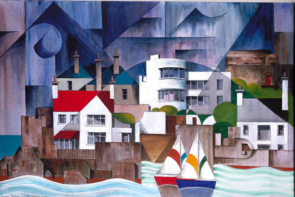 Painting - Sandycove Harbour Dublin by Val Byrne