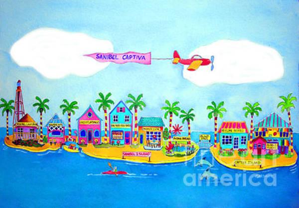 Captiva Island Painting - Sanibel - Captiva by Terry Gardiner