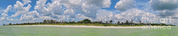 Photograph - Sanibel Island Panorama by Jeff Breiman