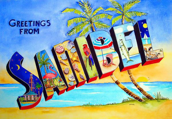 Captiva Island Painting - Sanibel by Terry Gardiner