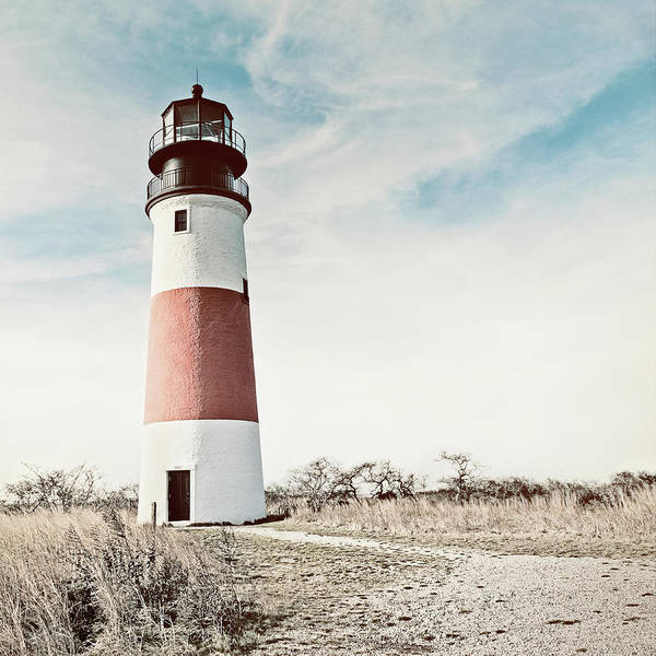 Nantucket Photograph - Sankaty Head Lighthouse Nantucket  by Marianne Campolongo