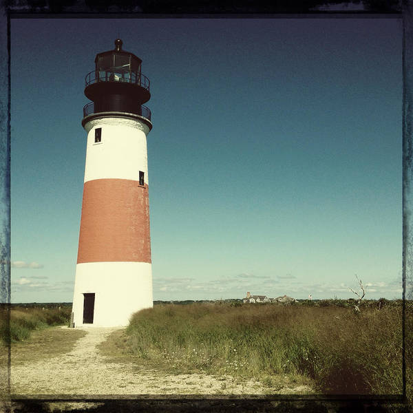 Photograph - Sankaty Head Lighthouse by Natasha Marco