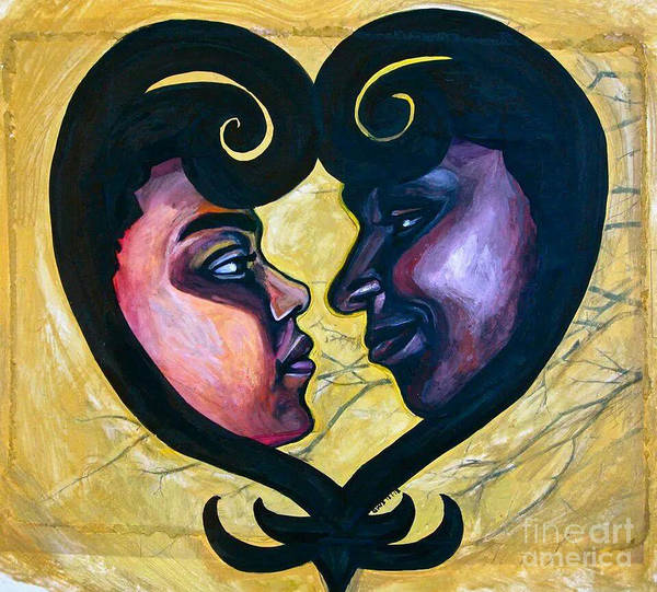 Painting - Sankofa Love by Gabrielle Wilson-Sealy