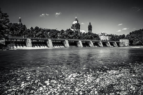 Photograph - Sankt Lukas Church At The Isar by Hannes Cmarits