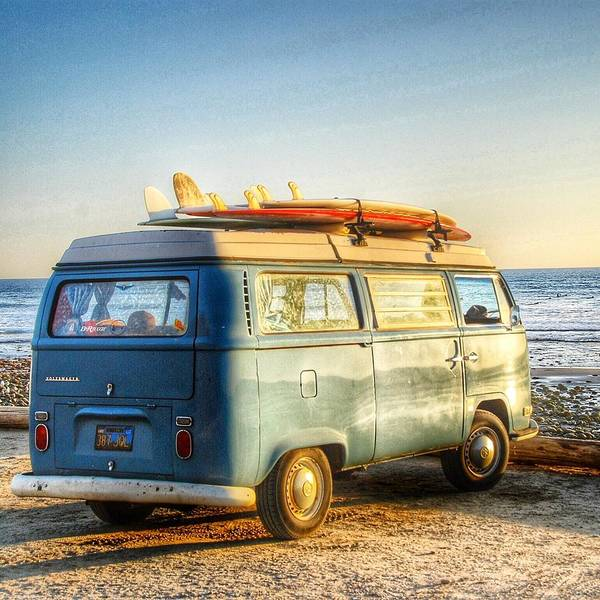 Sano Vw Bus Art Print