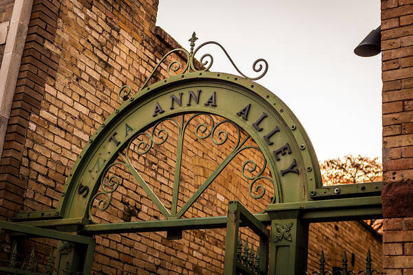 Photograph - Santa Anna Alley 2 by Melinda Ledsome