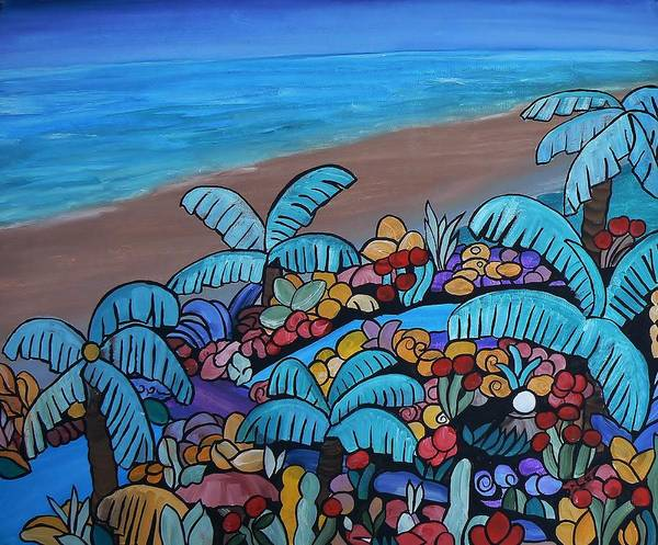 Painting - Santa Barbara Beach by Barbara St Jean