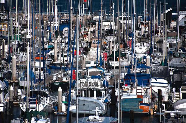 Photograph - Santa Barbara Boats by Sandy Scharmer