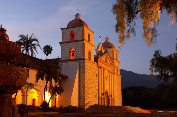Mission Santa Barbara Photograph - Santa Barbara by Christian Heeb