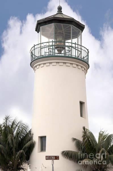 Photograph - Santa Barbara Lighthouse by Brenda Kean