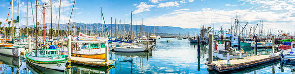 Photograph - Santa Barbara Marina by Thomas Hall