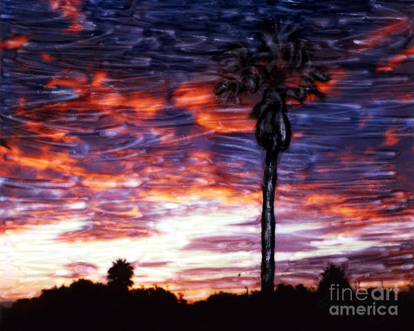 Mixed Media - Santa Barbara Sky Fire by Glenn McNary