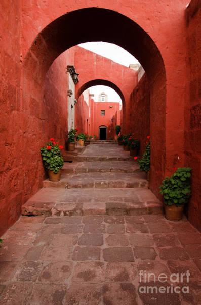 Wall Art - Photograph - Santa Catalina Monastery In Arequipa Peru by Ralf Broskvar