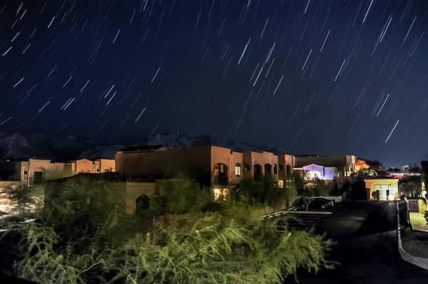 Photograph - Santa Catalina Mountain Startrails by Dan McManus