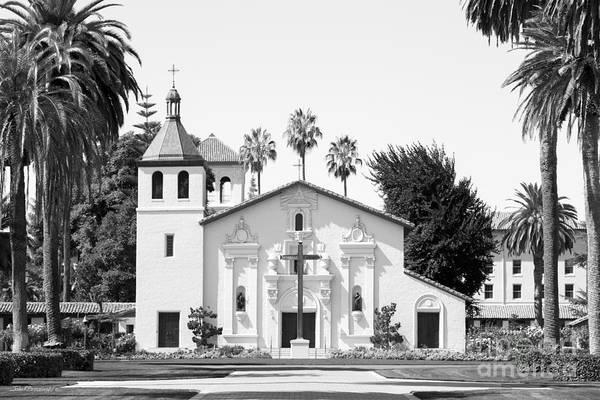 Photograph - Santa Clara University Mission Church by University Icons