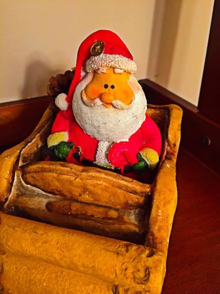 Photograph - Santa Claus by Chris Montcalmo