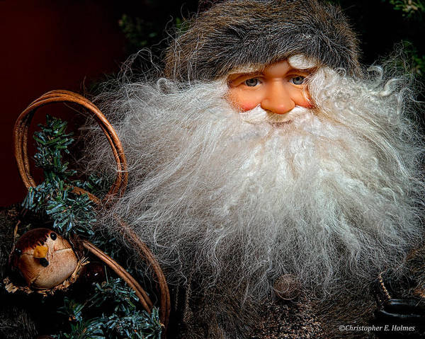 Photograph - Santa Claus by Christopher Holmes