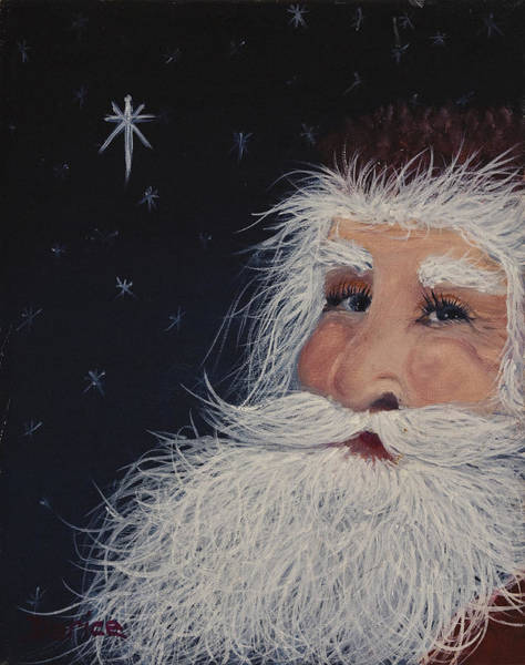 Painting - Santa Claus by Darice Machel McGuire