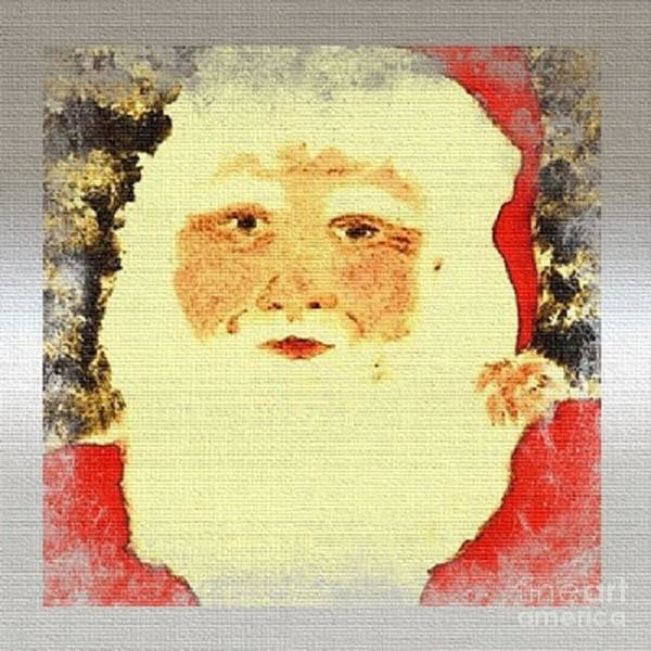 Painting - Santa Claus by Denise Tomasura